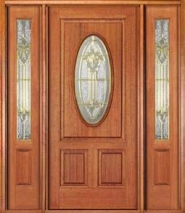 Wood Entry Door Style 1