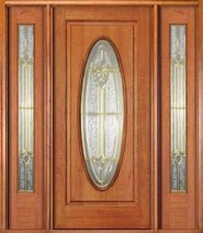 Wood Entry Door Style 2