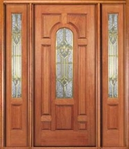 Wood Entry Door Style 3